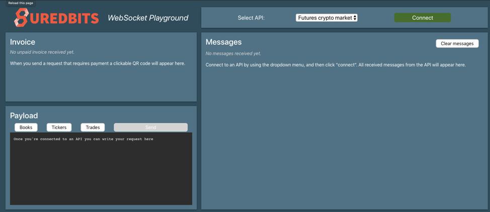 websocket playground
