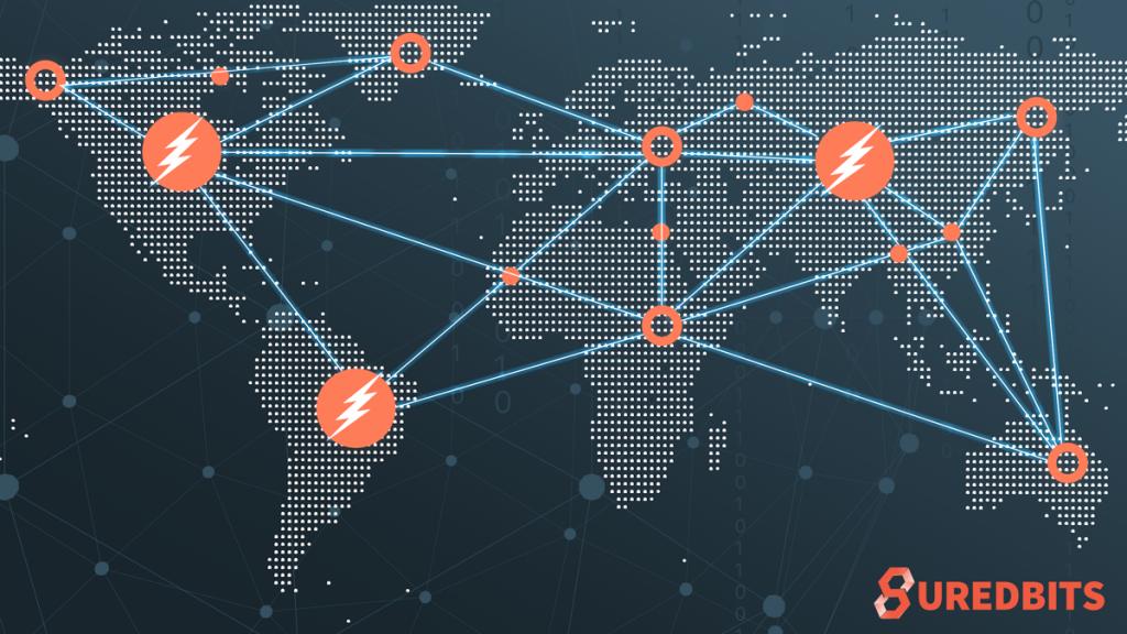 Suredbits Lightning Map